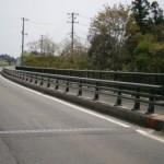 一般国道107号菱内橋橋梁補修(防護柵)工事(鋼製高欄)